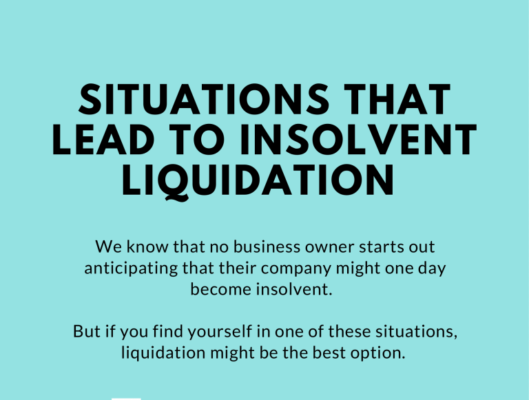 Retail Company Liquidation
